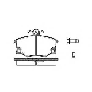 REMSA 0146.14 Колодка торм. FIAT TEMPRA 1.4,1.6 90-97 передн. (пр-во REMSA)