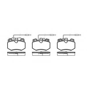 REMSA 0170.14 Колодка торм. CITROEN AX (ZA-_) (07/86-12/98) передн. (пр-во REMSA)