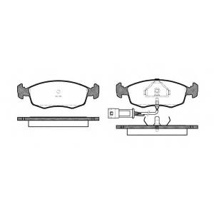 REMSA 0172.02 Колодки гальмівні дискові