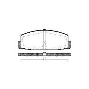 REMSA 0179.30 Колодки гальмівні дискові