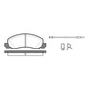 REMSA 0202.02 Колодки гальмівні дискові