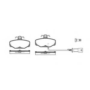 REMSA 0205.02 Колодки гальмівні дискові