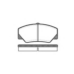 REMSA 0206.00 Колодки гальмівні дискові