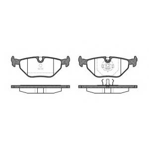 REMSA 0265.00 Колодка торм. BMW 3 (E30,E36), 5 (E28,E34) задн. (пр-во REMSA)