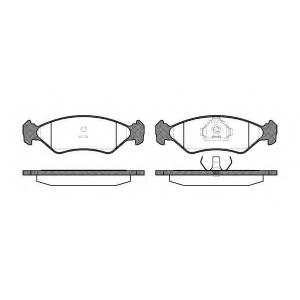 REMSA 0285.10 Колодки гальмівні дискові