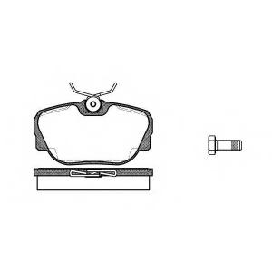 REMSA 0296.00 Колодка торм. BMW 3 (E30) 82-94 передн. (пр-во REMSA)