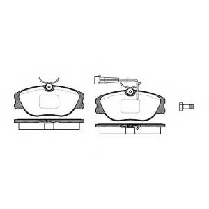 REMSA 030531 Комплект тормозных колодок, дисковый тормоз