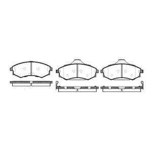 REMSA 0318.82 Колодки гальмівні дискові