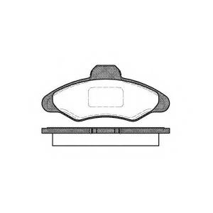 REMSA 0331.00 Колодки гальмівні дискові