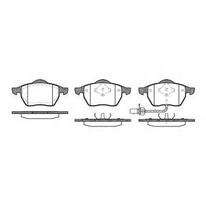 REMSA 039011 Комплект тормозных колодок, дисковый тормоз