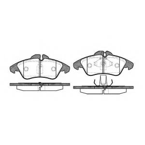 REMSA 0578.00 Колодка торм. MB SPRINTER 2-t, VW LT 28-35 передн. (пр-во REMSA)