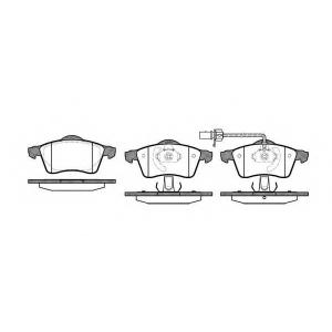 REMSA 0618.01 Колодка торм. VW T4 передн. (пр-во REMSA)