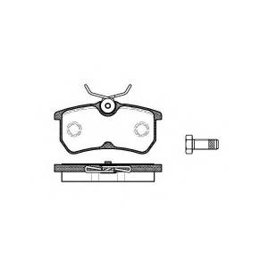 REMSA 0693.00 Колодки гальмівні дискові