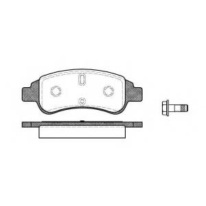 Комплект тормозных колодок, дисковый тормоз 084030 remsa - CITRO?N BERLINGO фургон (M_) фургон 1.1 i (MAHDZ, MBHDZ, MBHFX)