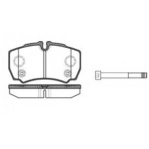 REMSA 0849.10 Колодки гальмівні дискові