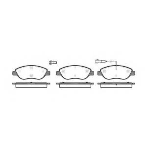 REMSA 0860.01 Колодки гальмівні дискові