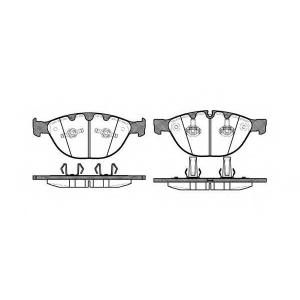 REMSA 0958.10 Колодки гальмівні дискові