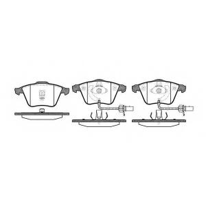 REMSA 0964.02 Колодки гальмівні дискові