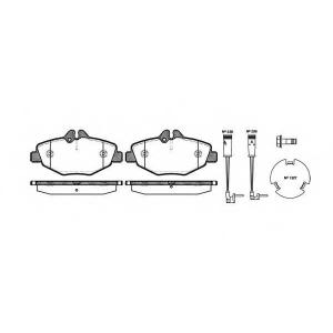 REMSA 0990.02 Колодка торм. MB E-CLASS (W211), E-CLASS KOMBI (S211) передн. (пр-во REMSA)