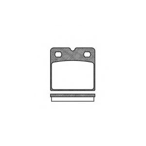 REMSA 1067.00 Комплект тормозных колодок, дисковый тормоз Ауди Р8