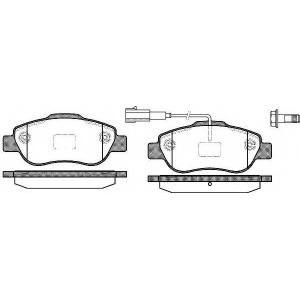 REMSA 1100.11 Колодка торм. CITROEN NEMO/PEUGEOT BIPPER 07/07- передн. (пр-во REMSA)