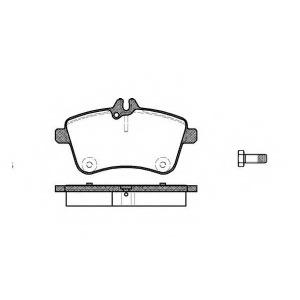 REMSA 1130.00 Колодки гальмівні дискові