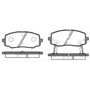 REMSA 1133.12 Колодки гальмівні дискові