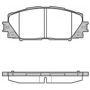 REMSA 1224.10 Колодки гальмівні дискові