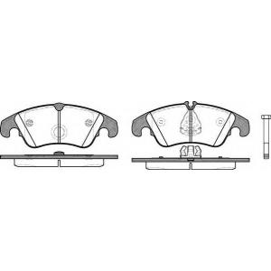 REMSA 1304.10 Колодка торм. AUDI A4 Allroad (8KH) (04/09-) передн. (пр-во REMSA)