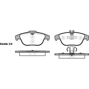 REMSA 1305.00 Колодка торм. MB C-CLASS(W204) 180-350 07-,GLK-CLASS200-350 08- задн. (пр-во REMSA)