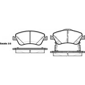 REMSA 1310.02 Колодка торм. TOYOTA AURIS передн. (пр-во REMSA)