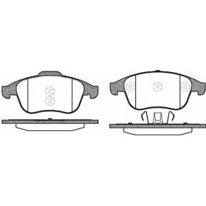 REMSA 1350.10 Колодки гальмівні дискові