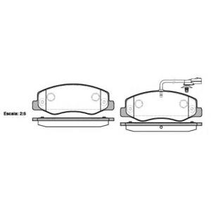 REMSA 1442.01 Колодки гальмівні дискові