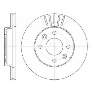 REMSA 6080.10 6080.10  REMSA - Гальмівний диск
