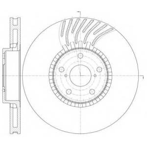 REMSA 61179.11 Диск тормозной LEXUS GS 450H 06- 460 08- передн. прав. (пр-во REMSA)