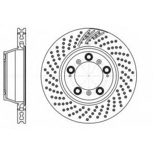 REMSA 61198.10 Тормозной диск