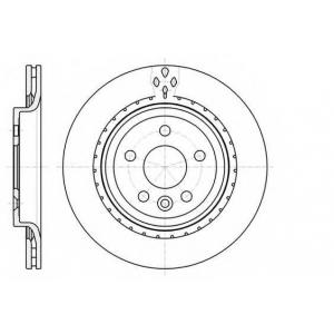 REMSA 61305.10 Диск тормозной (пр-во REMSA)