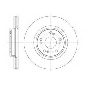REMSA 61359.10 Диск тормозной HONDA ACCORD IX 2.0-2.4 08- передн. (пр-во REMSA)