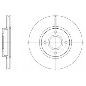 REMSA 61502.10 Тормозной диск Форд Б-Макс