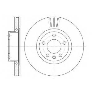 REMSA 6339.10 Диск тормозной OPEL OMEGA A, OMEGA B, передн., вент. (пр-во REMSA)
