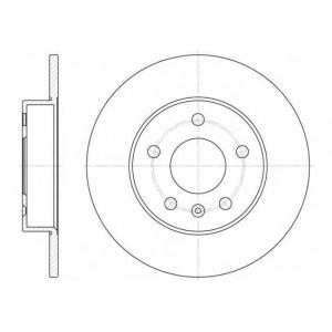 REMSA 6578.00 6578.00  REMSA - Гальмівний диск
