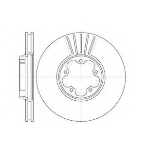 REMSA 6609.10 6609.10  REMSA - Гальмівний диск
