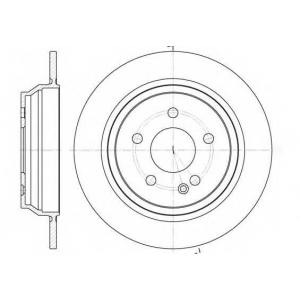 REMSA 6678.00 6678.00  REMSA - Гальмівний диск