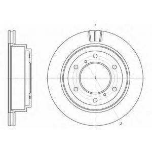REMSA 6955.10 Диск гальмівний