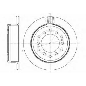 REMSA 6956.10 6956.10  REMSA - Гальмівний диск
