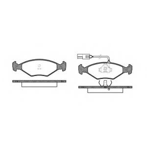 ROADHOUSE 2281.02 Комплект тормозных колодок, дисковый тормоз Фиат Премио