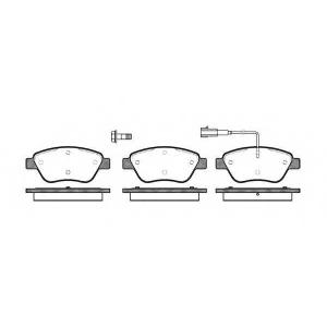 ROADHOUSE 285801 Колодки тормозные дисковые, к-кт.