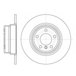 Тормозной диск 663200 roadhouse - BMW X5 (E53) вездеход закрытый 4.4 i