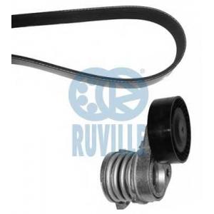 RUVILLE 5505580 Поликлиновой ременный комплект