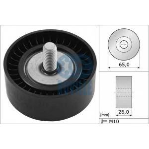 RUVILLE 56315 Паразитный / ведущий ролик, поликлиновой ремень